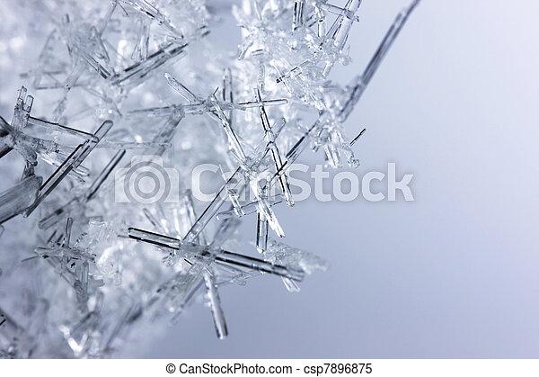 cristalli, closeup, ghiaccio - csp7896875