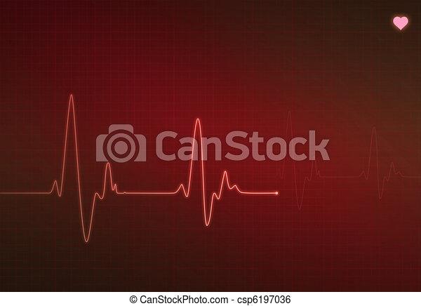 Heartbeat Line Art : Critical heart condition medical heartbeat monitor stock