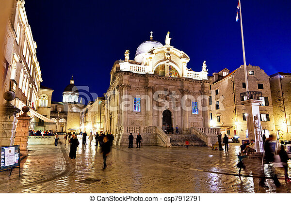 croatia, dubrovnik, st. blaise church - csp7912791