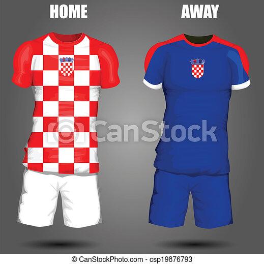 Croatia soccer jersey - csp19876793 df64d0440