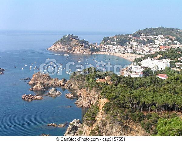 Croatian coast - csp3157551