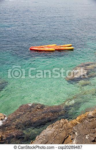 Croatian coast - csp20289487