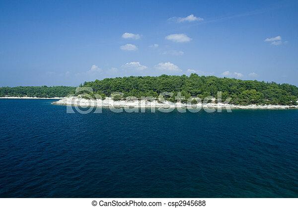 Croatian coast - csp2945688