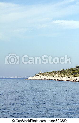 Croatian coast - csp4500882