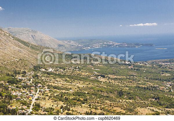 Croatian coast. - csp8620469