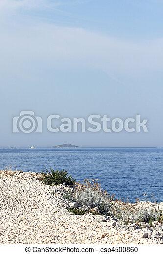 Croatian coast - csp4500860