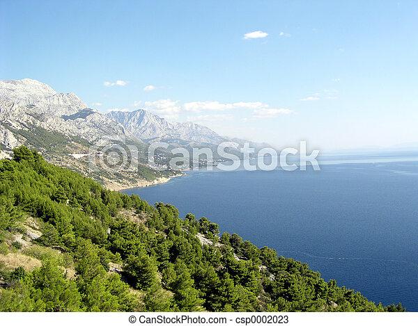 Croatian Coast - csp0002023