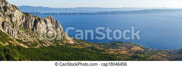Croatian shore - csp18046456