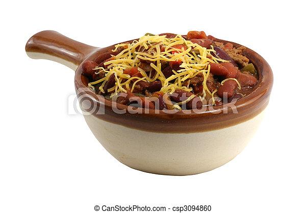 Crock of chili - csp3094860