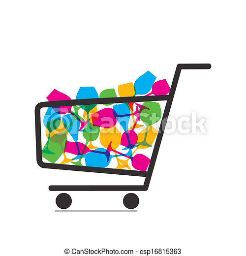 crockery purchase vector trolley with full of crockery clip art rh canstockphoto com purchase clipart online purchase clipart images
