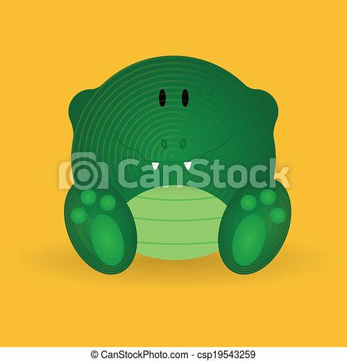 Crocodile - csp19543259