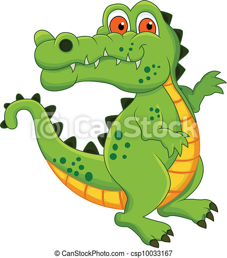 Crocodile dessin anim crocodile vecteur dessin anim illustration - Dessin anime crocodile ...