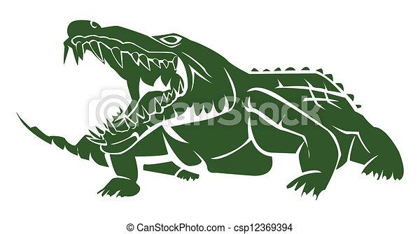 crocodile - csp12369394