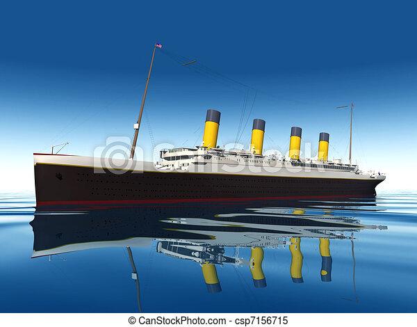 croisière bateau - csp7156715