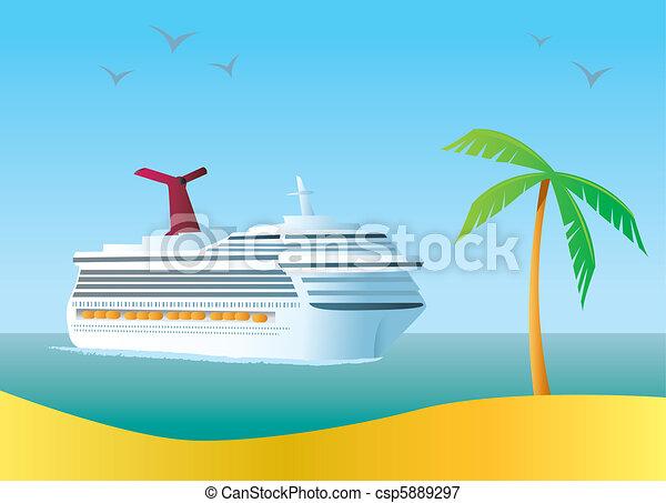 croisière bateau - csp5889297