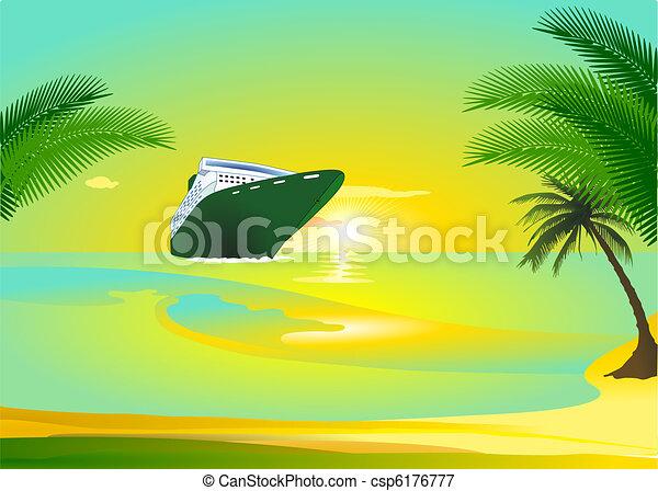 croisière bateau - csp6176777