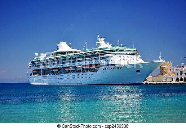 croisière bateau - csp2450338