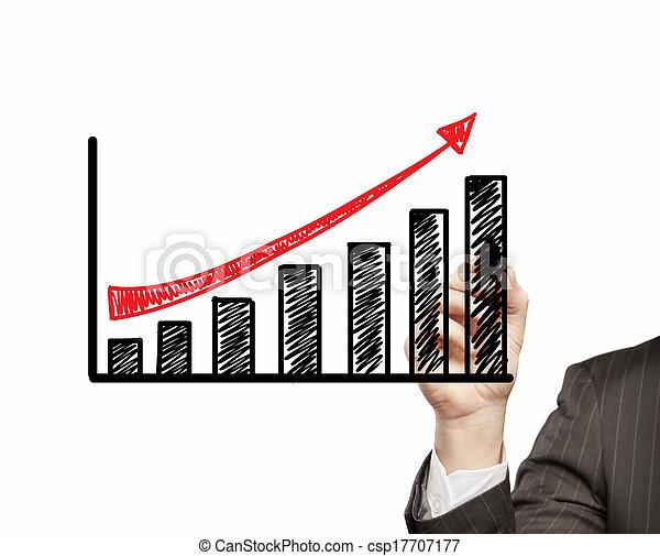 croissance, business - csp17707177