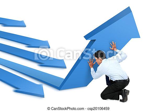 croissance, business - csp20106459