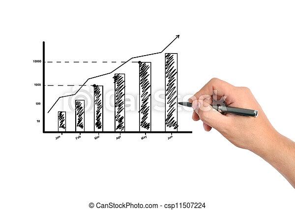 croissance, business - csp11507224