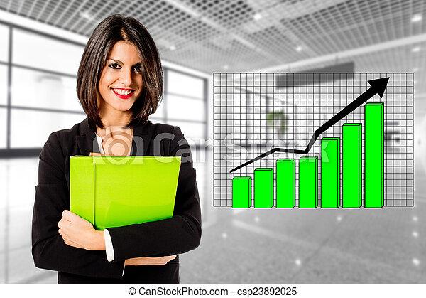 croissance, business - csp23892025