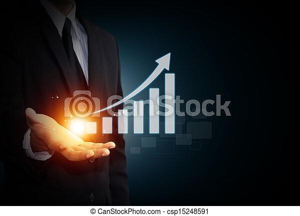 croissance, business - csp15248591