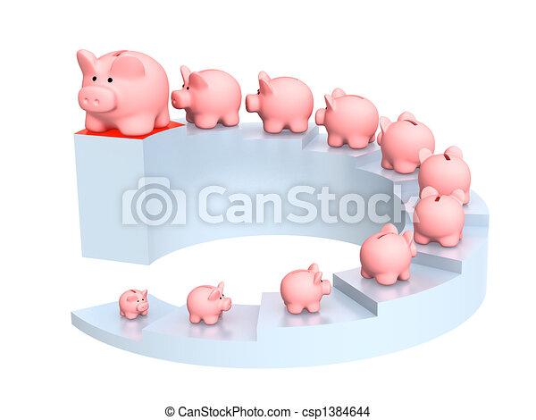croissance, capital - csp1384644