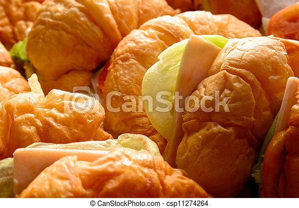 croissant sandwich - csp11274264