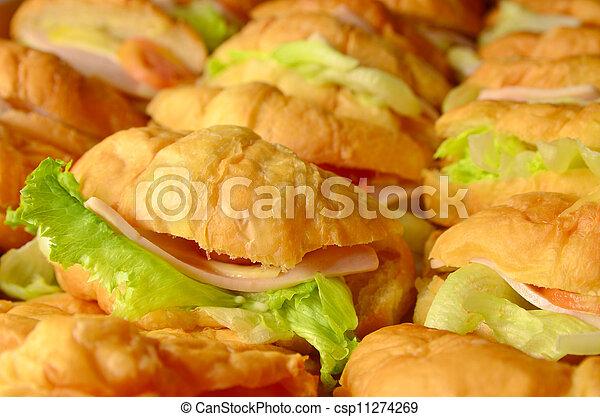 croissant sandwich - csp11274269