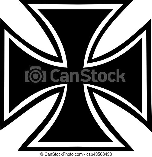 croix, fer, contour - csp43568438