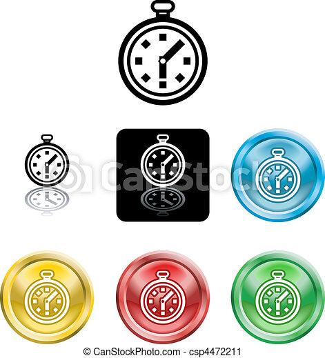 El símbolo del icono - csp4472211