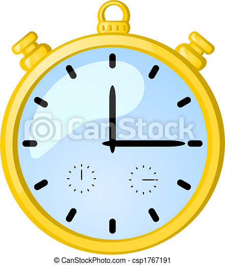 cronometro, dorato - csp1767191