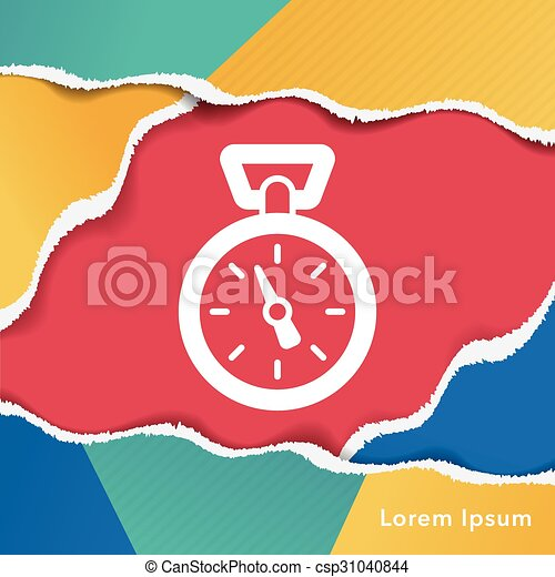 cronometro, icona - csp31040844