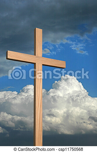 Cross and Sky - csp11750568
