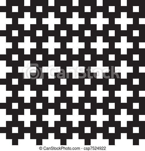 Cross box seamless pattern - csp7524922