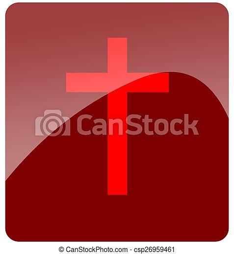 Cross button - csp26959461