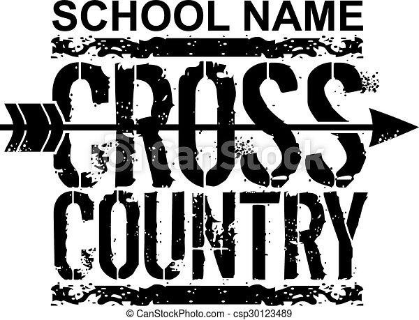 cross country - csp30123489