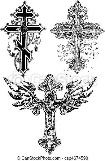 cross design - csp4674590