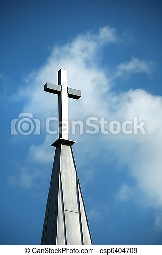 Cross in the Clouds - csp0404709