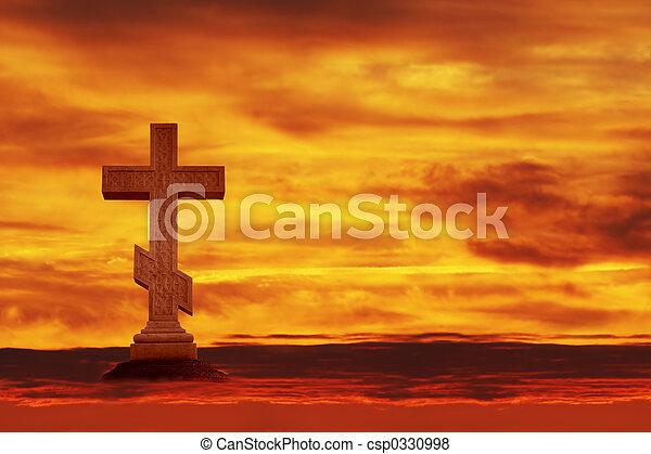 cross in the sky - csp0330998