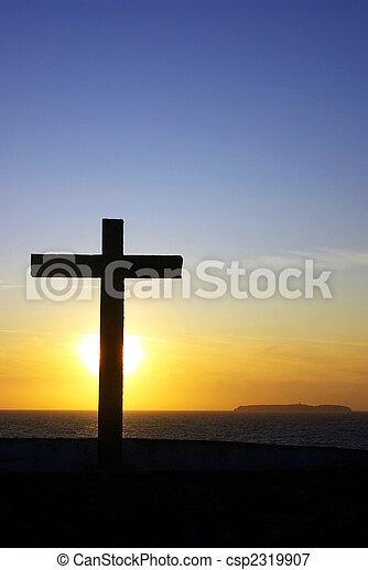 Cross of Christ . - csp2319907