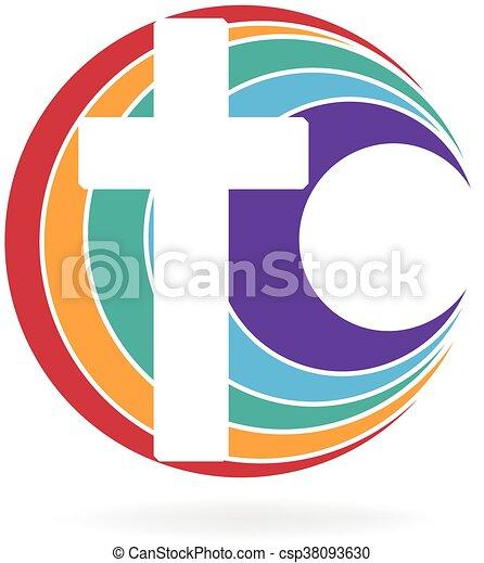 Cross Symbol Of Church Logo Cross Symbol Of Church Icon Design