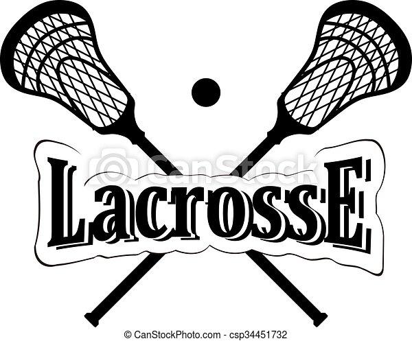 crossed lacrosse stick vector illustration vectors search clip rh canstockphoto ca lacrosse sticks clipart free crossed lacrosse sticks clipart