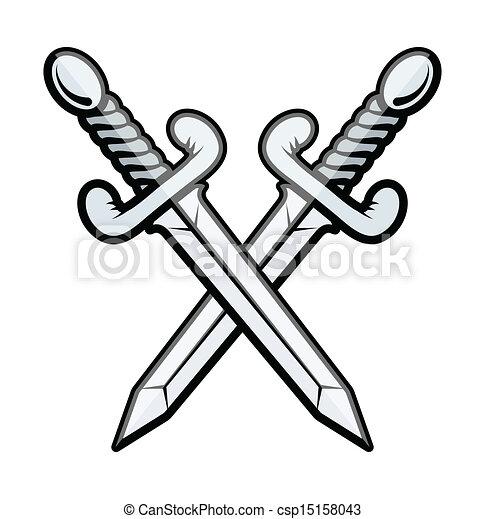 Crossed Sword