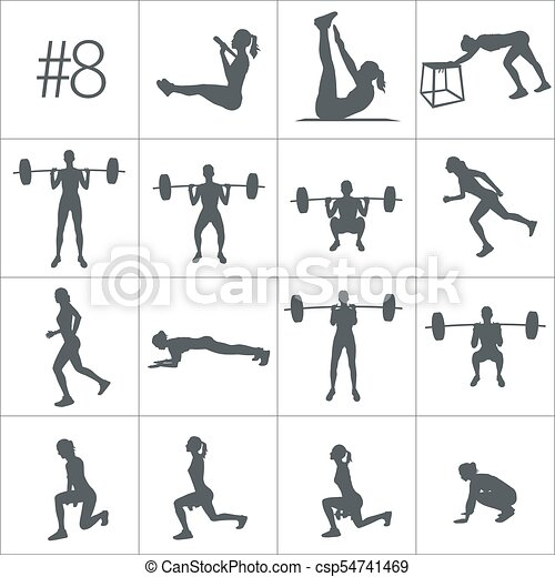 CrossFit Woman New Big Set