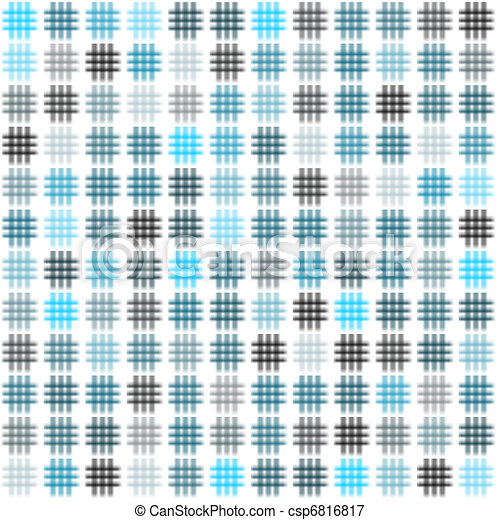 Crosshatches background white - csp6816817