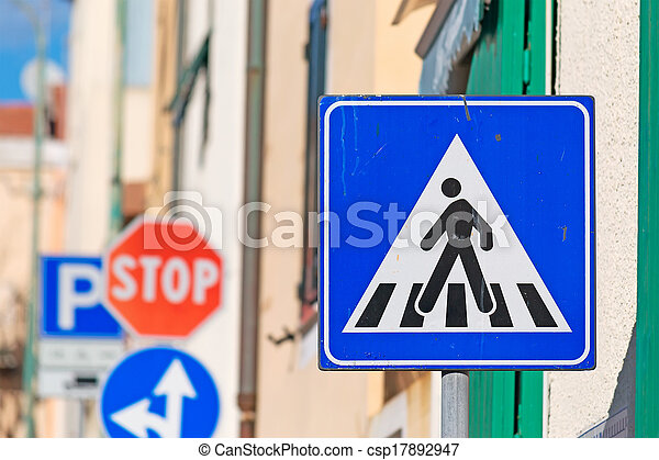 crossing sign - csp17892947