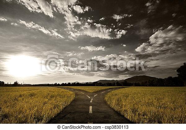 Crossroad - csp3830113
