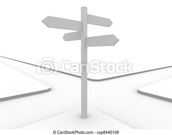 Crossroad - csp8445109