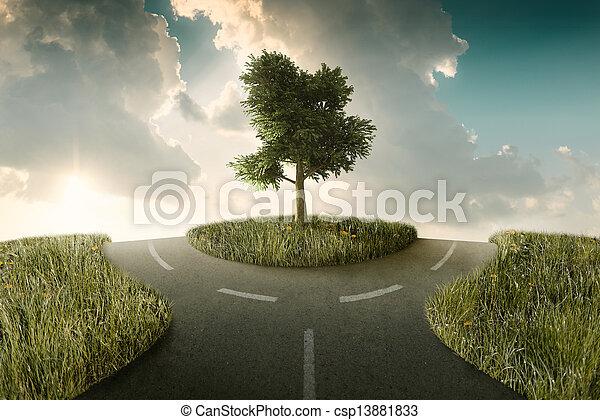 Crossroad - csp13881833